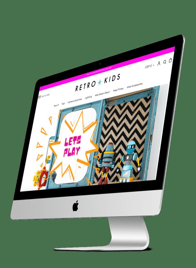 Retro Kids on mac