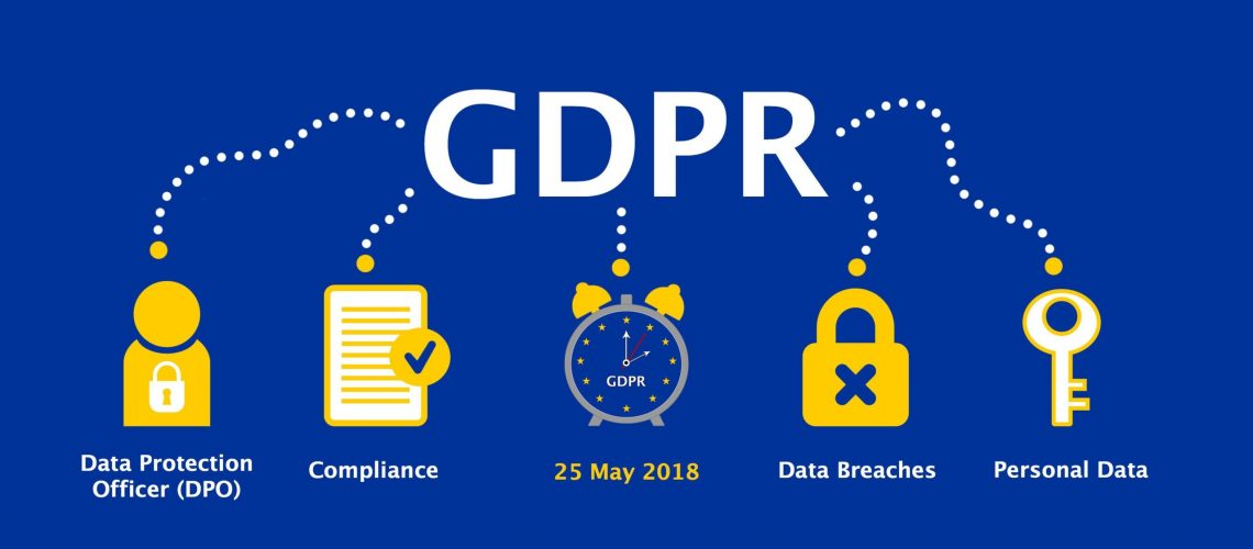 General Data Protection Regulation (GDPR) Concept Illustration - 25 May 2018
